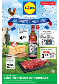 Prospectus Lidl REDON : Tous supporters du Made in France