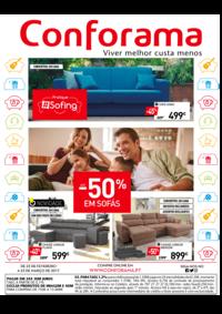 Folhetos Conforama Amadora - Alfragide : -50% em Sófas