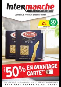 Prospectus Intermarché Super Rieux : Jusqu'à 50% en avantage carte
