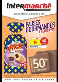 Prospectus Intermarché Super Montmagny : Pauses gourmandes à petits prix
