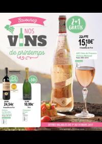 Prospectus Carrefour Market UCCLE Sq Marlow : Savourez nos vins de printemps