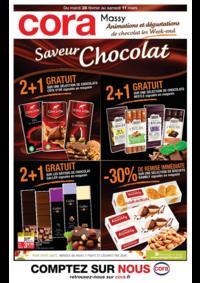Prospectus Cora MASSY : Saveur chocolat