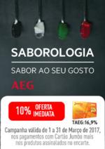 Promoções e descontos Jumbo : Encarte Electrolux - Oferta Imediata 10% Cartão Jumbo