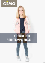Catalogues et collections Gemo : Lookbook printemps fille