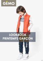 Promos et remises  : Lookbook printemps garçon