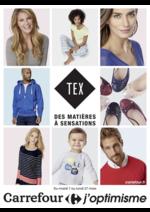 Prospectus Carrefour : TEX des matières à sensations