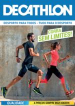 Folhetos DECATHLON : Corra sem limites !