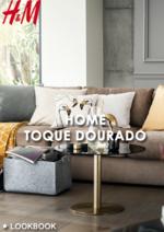 Promoções e descontos  : Lookbook Home toque dourado