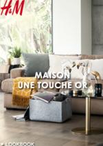 Catalogues et collections H&M : Lookbook maison Une touche or