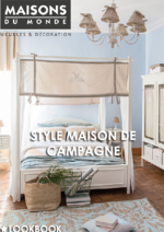 Catalogues et collections Maisons du Monde : Style Maison de campagne