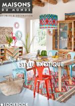 Catalogues et collections Maisons du Monde : Style Exotique