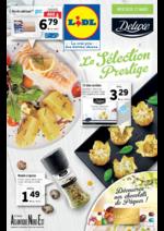 Prospectus Lidl : La Sélection Prestige