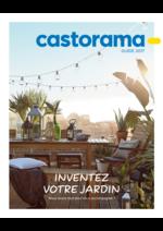 Catalogues et collections Castorama : Guide 2017: Inventez votre jardin