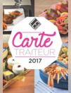 Carte traiteur 2017