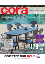 Prospectus Cora : Salons de jardin, détente, barbecues, plein air