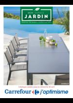 Prospectus Carrefour : Mobilier de jardin collection 2017