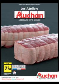 Prospectus Auchan ISSY LES MOULINEAUX : Les ateliers Auchan à découvrir cette semaine