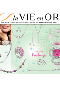 Prospectus Auchan Vélizy : La vie en or collection printemps