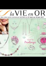 Prospectus Auchan : La vie en or collection printemps