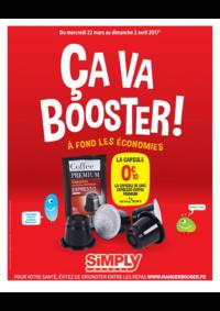Prospectus Simply Market HOUILLES : Ça va booster !
