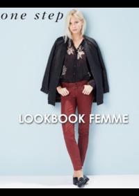 Catalogues et collections One step PARIS : Feuilletez le lookbook femme