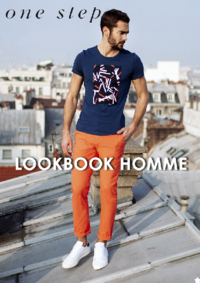 Catalogues et collections One step LE CHESNAY : Feuilletez le lookbook homme