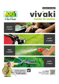 Folhetos AKI Santa Maria da Feira : Cuidar de Jardim