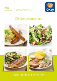 Prospectus OKay Supermarchés LENNIK : Délices printaniers