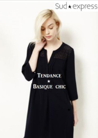 Catalogues et collections Sud express VELIZY VILLACOUBLAY : Craquez pour la tendance Basique chic