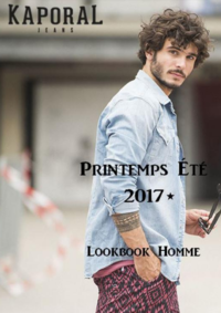 Catalogues et collections Kaporal CERGY : Lookbook homme été 2017