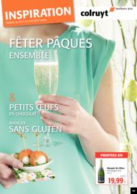 Prospectus Colruyt AUDERGHEM : Fêter Pâques Ensemble !