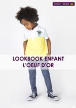 Catalogues et collections Sergent Major : Lookbook enfant L'oeuf d'Or