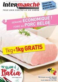 Prospectus Intermarché Clabecq - Tubize : Semaine ÉCONOMIQUE ! Foire au PORC BELGE