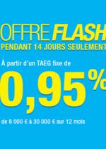 Prospectus Carrefour Banque : Offre Flash: Simulez votre prêt personnel