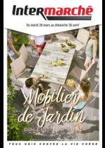 Prospectus Intermarché Hyper : Mobilier de jardin collection 2017