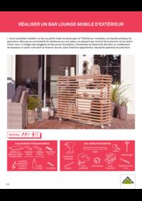 Guides et conseils Leroy Merlin St Denis-la-Plaine : Réaliser un bar lounge mobile