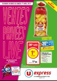 Prospectus U Express MONTREUIL - AV. SIGNAC : Ventes privées live 3ème semaine