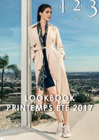 Catalogues et collections 1.2.3 PARIS 31 rue de Passy : Lookbook printemps été 2017