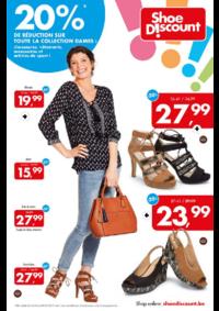 Prospectus Shoe Discount BOUGE : 20% de réduction sur toute la collection dames