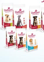 Catalogues et collections Delbard : Nouveau : croquettes pour chiens et chats