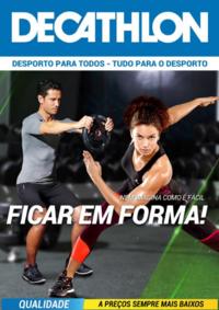 Folhetos DECATHLON Aveiro : Nem imagina como é fácil ficar em forma!