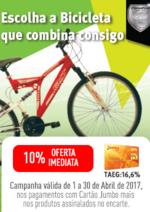 Promoções e descontos Jumbo : Especial Bicicletas - Oferta 10% Cartão Jumbo