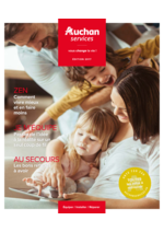 Prospectus Auchan : Auchan services