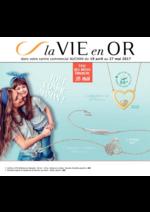 Prospectus Auchan : La Vie en Or ... Tout comme Maman !