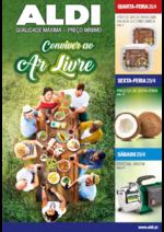 Folhetos Aldi : Conviver ao ar livre