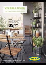 Folhetos IKEA : Viva mais o exterior