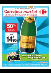 Prospectus Carrefour Market NANTERRE : Le plein de fraîcheur et d'économies