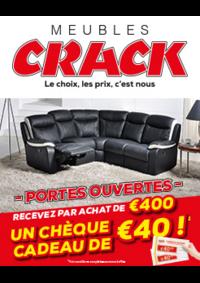 Bons Plans Meubles Crack : Recevez par achat de 400€ un chèque cadeau de 40€