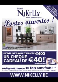 Prospectus Meubles Nikelly : Recevez par tranche d'achat de 400€ un chèque de 40€ !