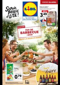 Prospectus Lidl VILLEJUIF : Fan de barbecue, débutez la saison en beauté !
